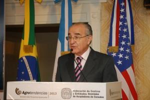 Roberto Riva, presidente de la Federacion  de Acopiadores.