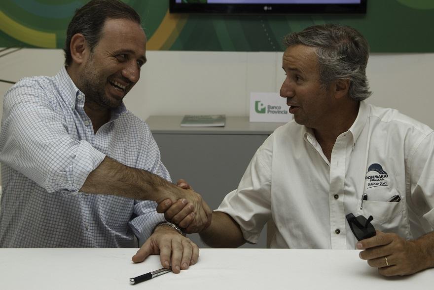 DONMARIO Semillas y Banco Provincia firmaron un convenio