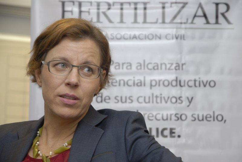 """Charlotte Hebebrand: """"De la fertilización también depende la nutrición humana"""""""