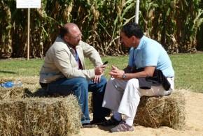 Juan C Grasa entrevistando a Horacio Silva