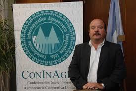 Egidio Mailland, presidente de Coninagro