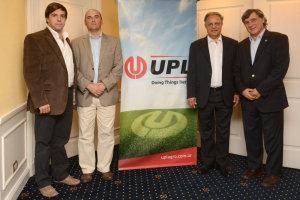 De izquierda a derecha: Fernando Lespiau Gerente General Argentina, Eduardo Teppaz Director de Marketing LatAm, Sagar Kaushik COO y Felipe MacLoughlin Presidente LatAm