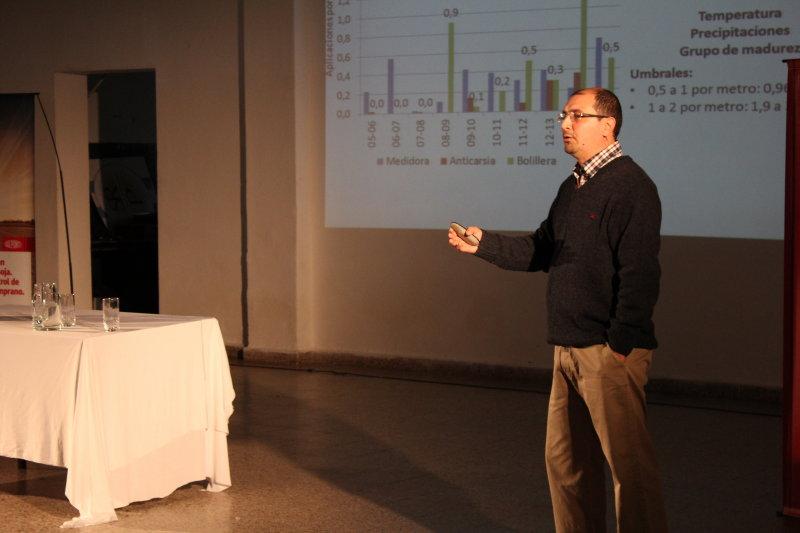 III Jornada de Actualización en Soja y Maíz, realizada por la consultora Lares