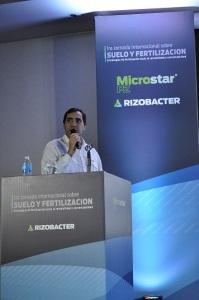 Eduardo Cicerone, Responsable de la línea de productos fertilizantes de Rizobacter