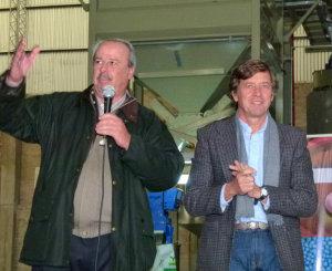 Pino Chemes y Carlos Becco