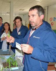 Ing. Javier M. Vázquez –asesor privado y especialista en control de plagas agrícolas–