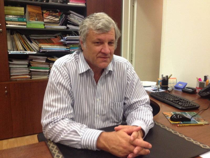 """David Hughes, presidente de Argentrigo: """"La expectativa para este año es volver a las 6 millones de hectáreas"""""""