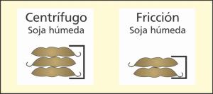 soja humeda - centrifugo - friccion