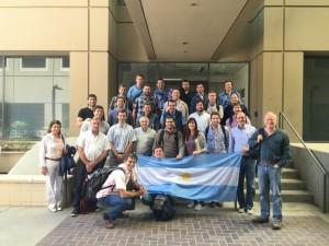Agroempresarios argentinos en Davis University que desde su fundación participó en gran parte del desarrollo agropecuario de California