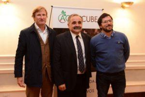 Andrea Benso, claudio Cabral y Adrián Mitidieri