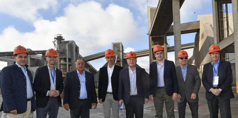 Peña,Dietrich y Lifschitz visitaron T6 en Puerto General San Martín