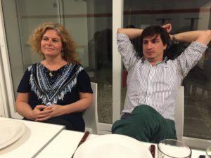 Celina Kaseta e Iván Ordoñez