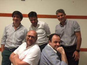 Ordoñez, Lechardoy, Nuñez, Grasa y Melo