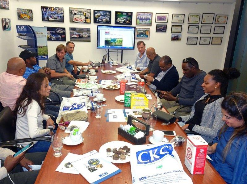 CKC recibe la visita de una misión de negocios de Kenia