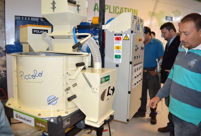 Piccolo, nueva máquina para tratamiento de semillas de alta performance
