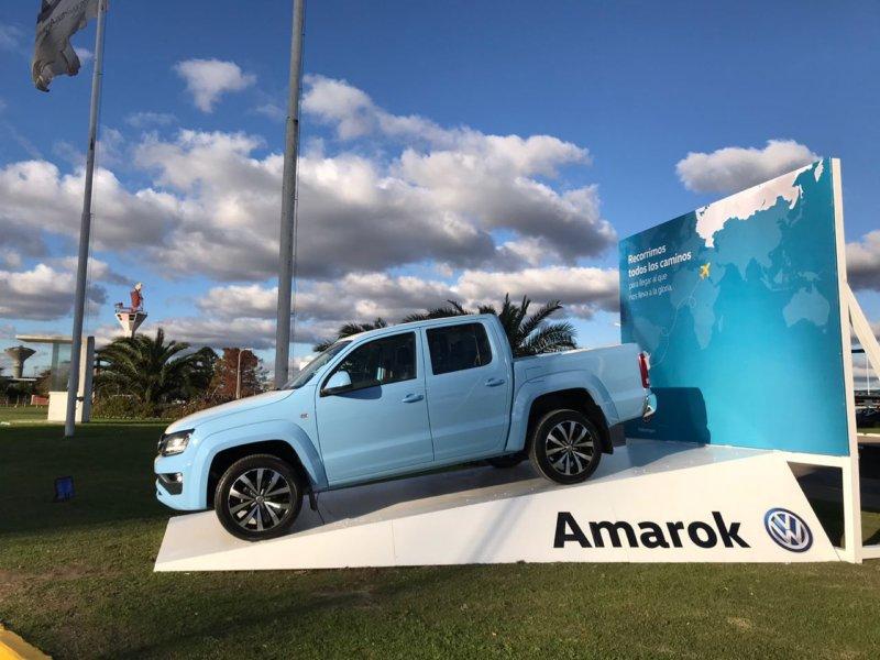 Estadio AMAROK, en el Aeropuerto de Ezeiza