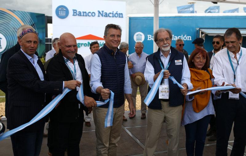 El BNA anunció nuevas líneas de financiamiento en la inauguración de Expoagro