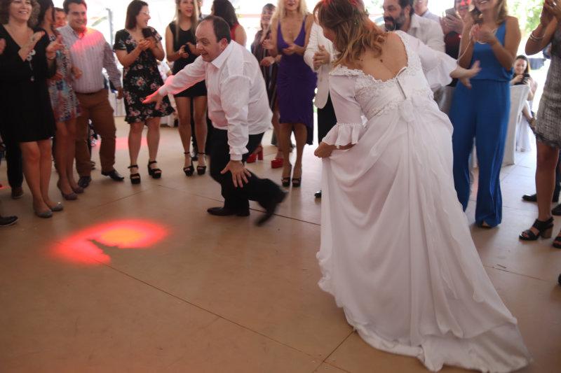 Vidriera especial   Casamiento Melo-Eli