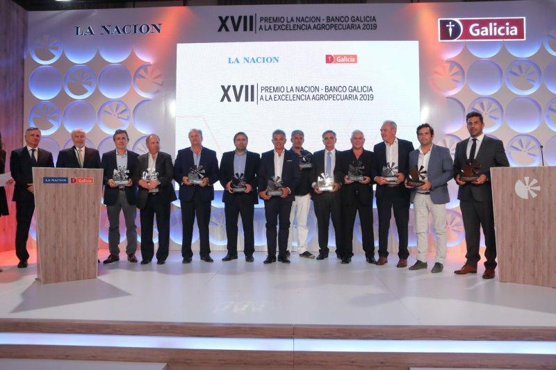 XVII Premio Excelencia Agropecuaria organizado por LA NACION y Banco Galicia