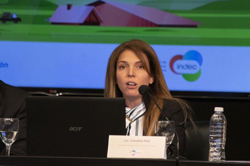 """Carolina Plat: """"Luego de 17 años, tenemos datos actualizados de la realidad agropecuaria"""""""