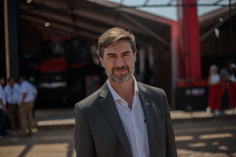 Sergio Vera, Director Comercial de CASE IH