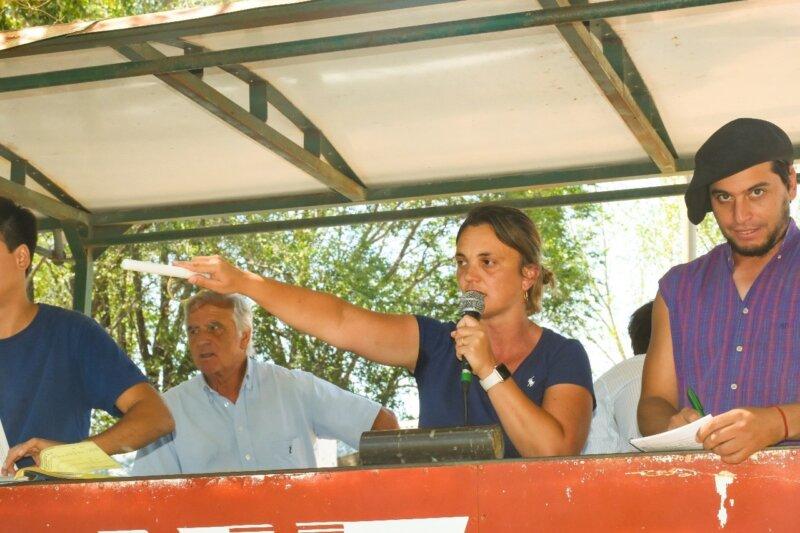 Gabriela Iturrioz, rematadora de hacienda