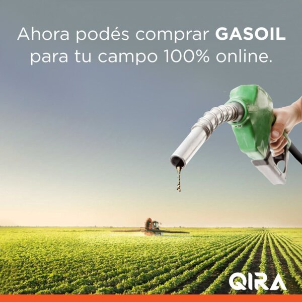 QIRA OFRECE EN EXCLUSIVA GASOIL, DIRECTO DE LA REFINERÍA AL CAMPO